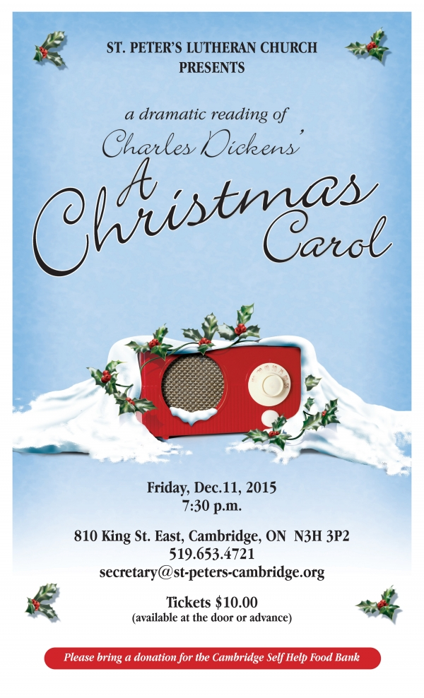 A Christmas Carol Feat Grand River Brass St Peters