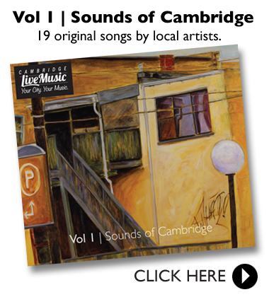 Vol 1 - Sounds of Cambridge is here!